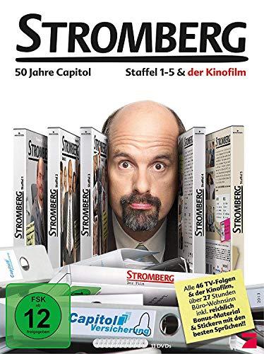 DVD - Stromberg Box - Staffel 1-5 & der Kinofilm (11 Discs)