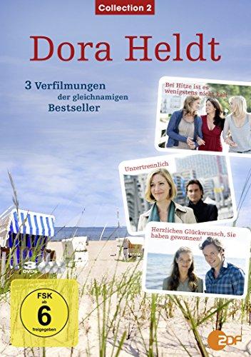 DVD - Dora Heldt - Collection 2: Bei Hitze ist es wenigstens nicht kalt / Unzertrennlich / Herzlichen Glückwunsch, Sie haben gewonnen!