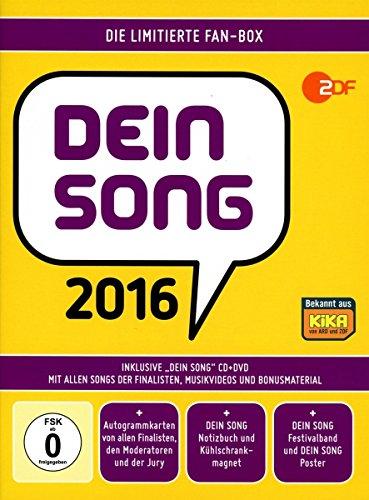 Sampler - Dein Song 2016 (CD DVD) (Limited Fan-Box)