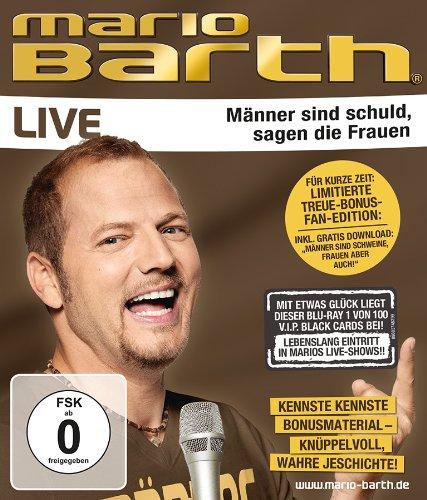 Blu-ray - Mario Barth - Männer sind schuld, sagen die Frauen - Live (Limited Fan-Edition)