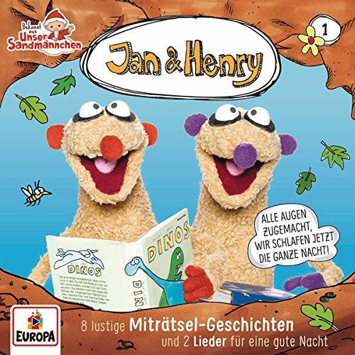 Jan & Henry - 001/8 lustige Miträtsel-Geschichten und 2 Lieder für eine gute Nacht