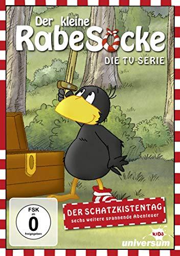 DVD - Der kleine Rabe Socke - Die TV-Serie 10: Der Schatzkistentag und sech weiter spannende Abenteuer