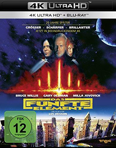 - Das fünfte Element  (4K Ultra HD) (+ Blu-ray 2D)
