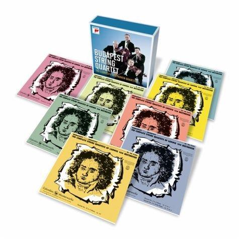 Budapest String Quartet - The Complete Beethoven Quartets (12-CD BOX SET)