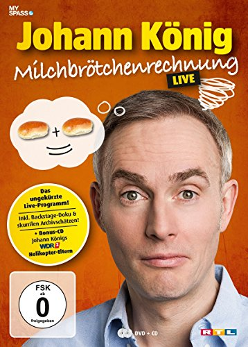 DVD - Johann König - Milchbrötchenrechnung [3 DVDs]