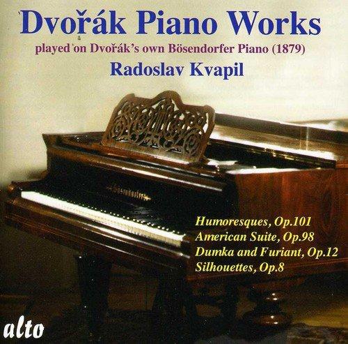Dvorak , Anton - Dvorak: Piano Works Played On Dvorak's Own Bösendorfer Piano (1879) By Radoslav Kvapil