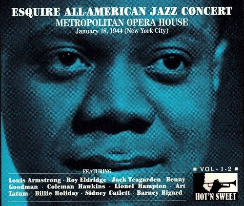 Sampler - Esquire All-American Jazz Concert - Metropolitan Opera House 1944