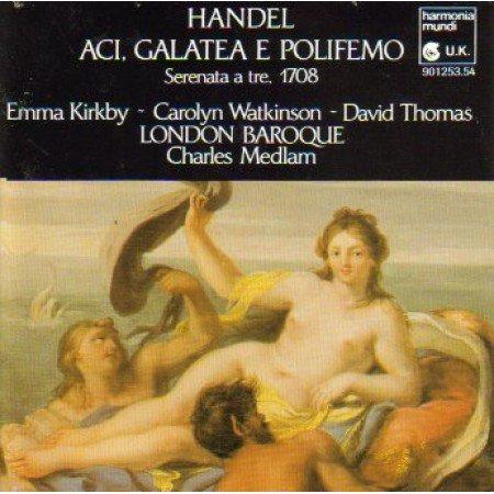 Händel , Georg Friedrich - Aci, Galatea E Polifemo / 3 Trio Sonatas (Medlam, Kirkby, Watkinson, Thomas)
