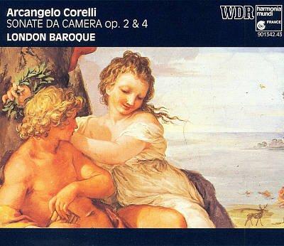 Corelli , Arcangelo - Sonate Da Camera, Op. 2&4 (London Baroque)