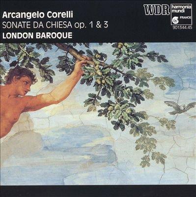 Corelli , Arcangelo - Sonate Da Chiesa, Op. 1&3 (London Baroque)