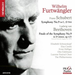 Furtwängler , Wilhelm - Schubert: Symphony No. 9 in C, D 944 / Beethoven: Finale Of The Symphony No. 9 in D minor, OP. 125 (Schwartkopf, Cavelti, Häfliger, Edelmann) (SACD)