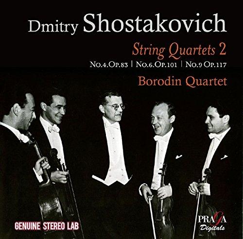 Shostakovich , Dmitry - String Quartets 2 - No. 4 Op. 83 / No. 6 Op. 101 / No. 9 Op. 117 (Borodin Quartet)