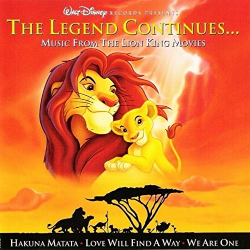 Sampler - The Legend Coninues ... Music From The Lion King Movies (Soundtrack) (Maxi)