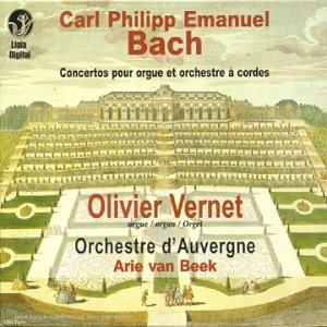 Bach , Carl Philipp Emanuel - Concertos pour orgue H. 444 & 446