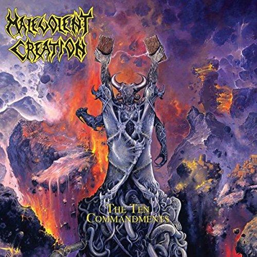 Malevolent Creation - The Ten Commandments (Limited Edition) (Bronze) (Vinyl)