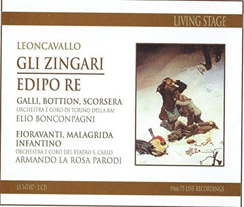 Leoncavallo , Ruggiero - Gli Zingari / Edipo Re (Bonconpagni, La Rosa Parodi)
