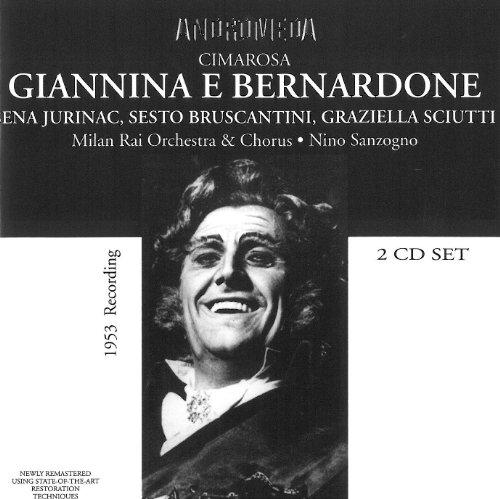 Cimarosa , Domenico - Giannina E Bernardone (Jurinac, Bruscantini, Sciutti, Sanzogno)