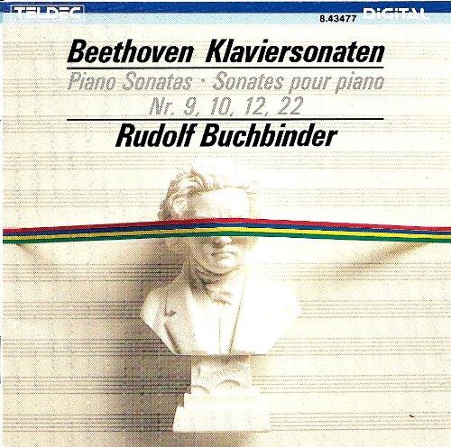 Beethoven , Ludwig van - Klaviersonaten Nr. 9, 10, 12, 22 (Buchbinder)