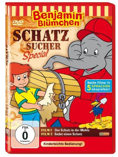 DVD - Benjamin Blümchen: Schatzsicher Special - Der Schatz in der Mühle / findet einen Schatz