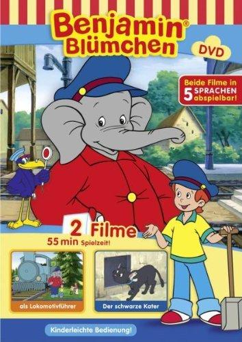 DVD - Benjamin Blümchen - als Lokomotivfahrer / Der schwarze Kater