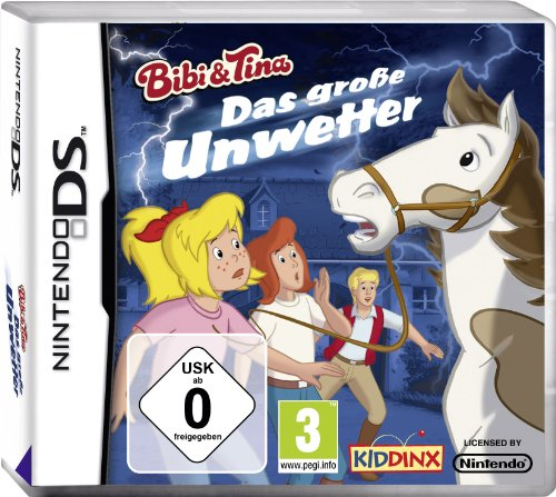 Nintendo DS - Bibi & Tina - Das große Unwetter