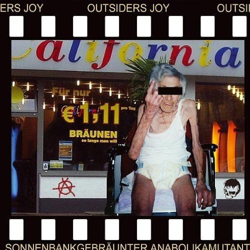 Outsiders Joy - Sonnenbankgebräunter Anabolikamutant