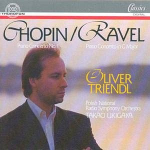 Chopin / Ravel - Piano Concerto / Piano Concerto in G Major (Triendl)
