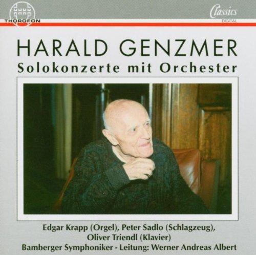Genzmer , Harald - Solokonzerte mit Orchester (Krapp, Sadlo, Triendl, Albert)