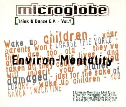 Microglobe - Think & Dance E.P. 1 (Maxi)