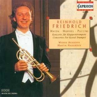 Friedrich , Reinhold - Konzerte für Klappentrompete