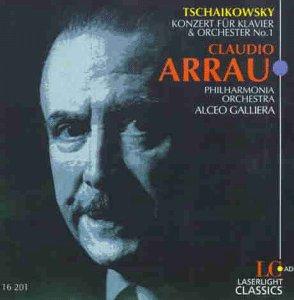 Tchaikovsky , Peter - Konzert für Klavier und Orchester No. 1 (Arrau, Philharmonia Orchestra, Galliera)