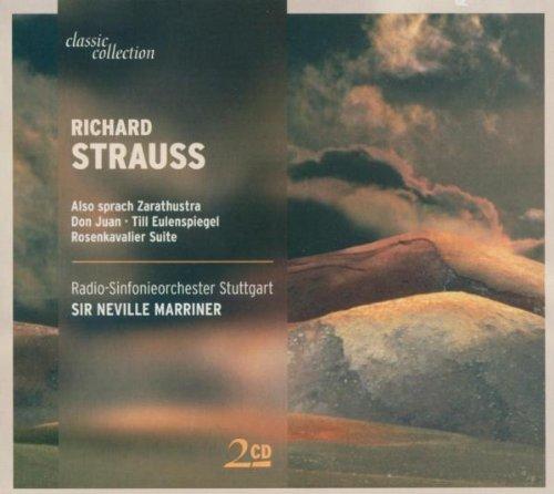 Strauss , Richard - Also sprach Zarathustra / Don Juan / Till Eulenspiegel, Rosenkavalier Suite (Marriner)
