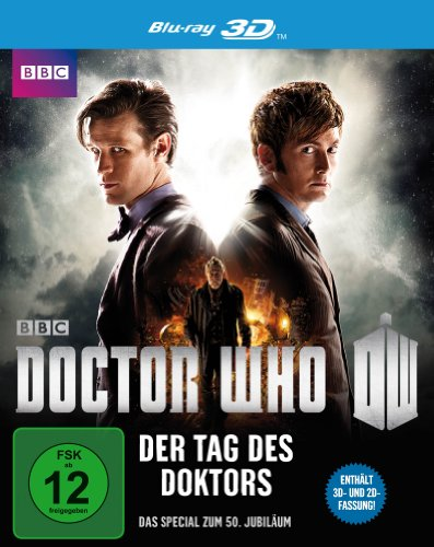 Blu-ray - Doctor Who - Der Tag des Doktors 3D (  2D-Version) (50th Anniversary Special Film)