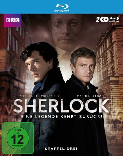 Blu-ray - Sherlock - Staffel 3