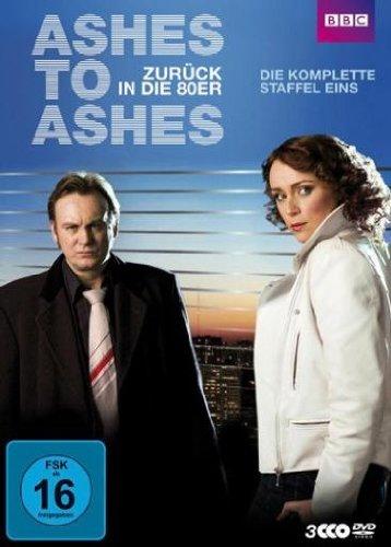 DVD - Ashes to Ashes - Zurück in die 80er, Die komplette Staffel 1 [3 DVDs]
