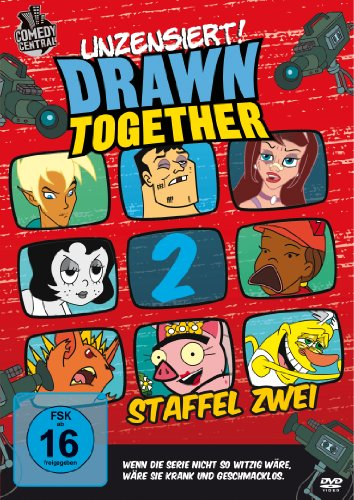 DVD - Drawn Together - Staffel 2