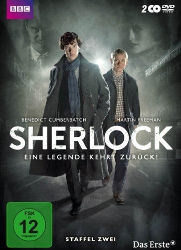 DVD - Sherlock - Staffel 2