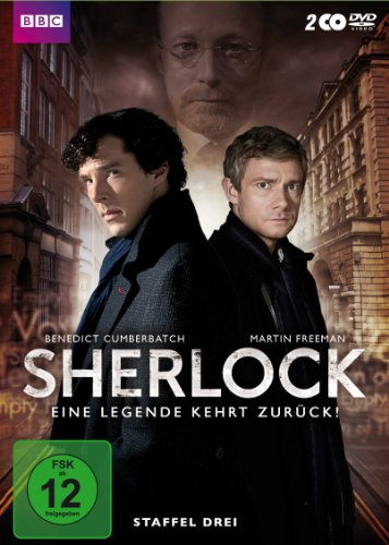 DVD - Sherlock - Staffel 3 [2 DVDs]