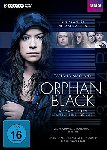 DVD - Orphan Black - Staffel 1 & 2