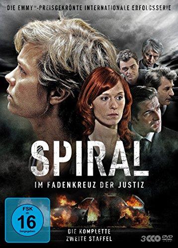 DVD - Spiral - Im Fadenkreuz der Justiz - Staffel 2