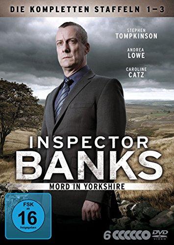 DVD - Inspector Banks - Staffeln 1 - 3