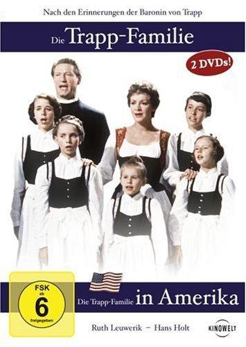 DVD - Die Trapp-Familie / Die Trapp-Familie in Amerika