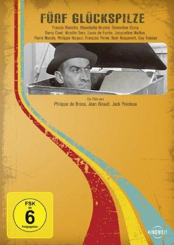 DVD - Fünf Glückspilze