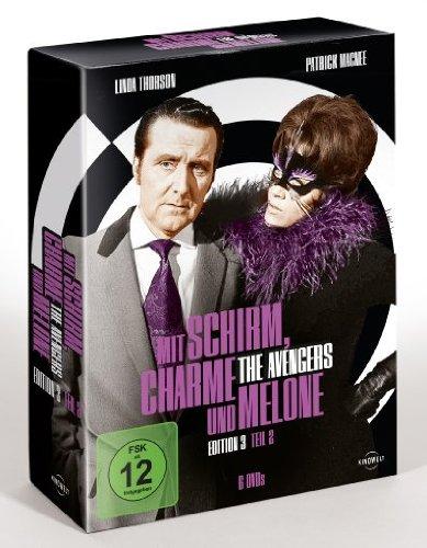 DVD - Mit Schirm, Charme und Melone - Edition 3 Teil 2 (6 DVD BOX SET)