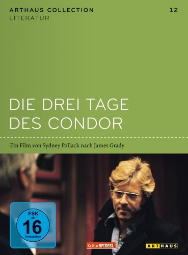 DVD - Die drei Tage des Condor (KulturSpiegel / Arthaus Collection - Literatur 12)