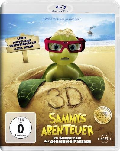 - Sammys Abenteuer - Die Suche nach der geheimen Passage (Real 3D) [3D Blu-ray]