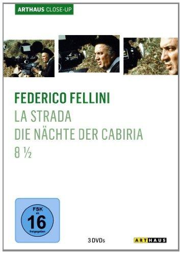 DVD - Federico Fellini - ARTHAUS Close-Up (La Stada / Die Nächte der Cabiria / 8 1/2)