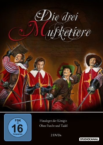 DVD - Die drei Musketiere - Teil 1 und 2 [2 DVDs]