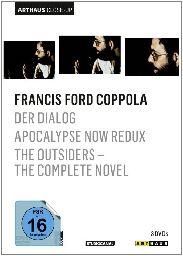DVD - Francis Ford Coppola (Der Dialog / Apocalypse Now Redux / The Outsiders - The Complete Novel) (Arthaus Close-Up)