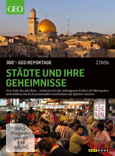 DVD - 360° GEO REPORTAGE: Städte und ihre Geheimnisse